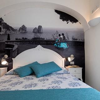 Camera Matrimoniale 14 Mq.Villa Patrizi Capri Camere E Suite